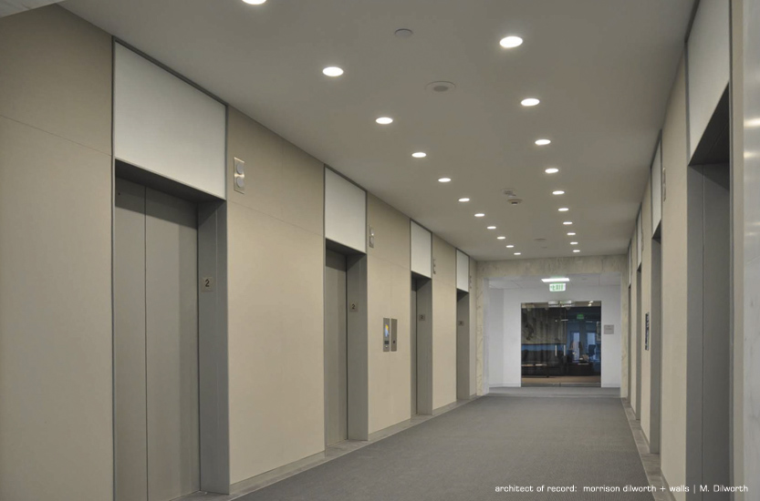 modern-commercial-architecture-elevator-bank