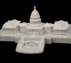 3D-united-states-capitol-model