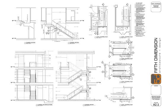 Construction documents example fifth dimension design for Construction documents example