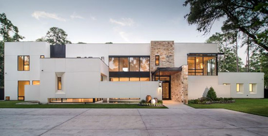 Houston modern house tour 1