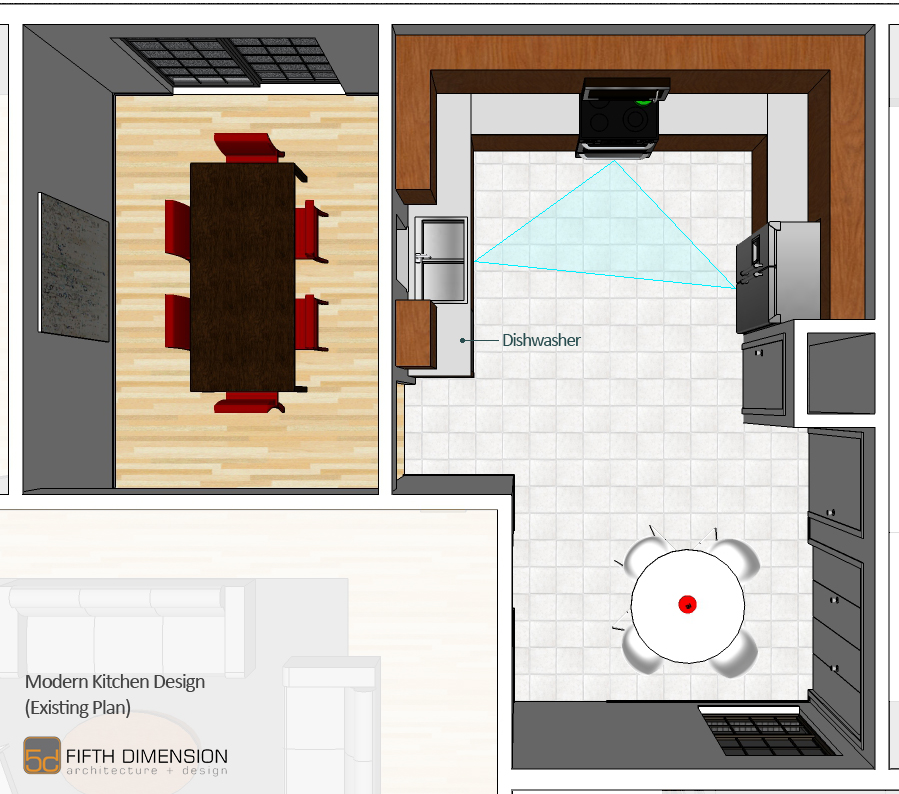 Modern Kitchen Design Fifth Dimension Design