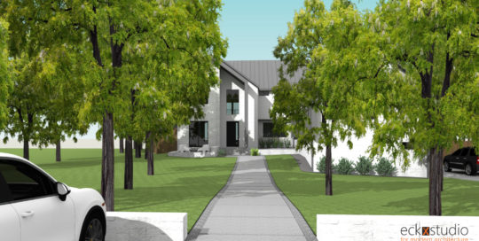 Placid Front Rendering image