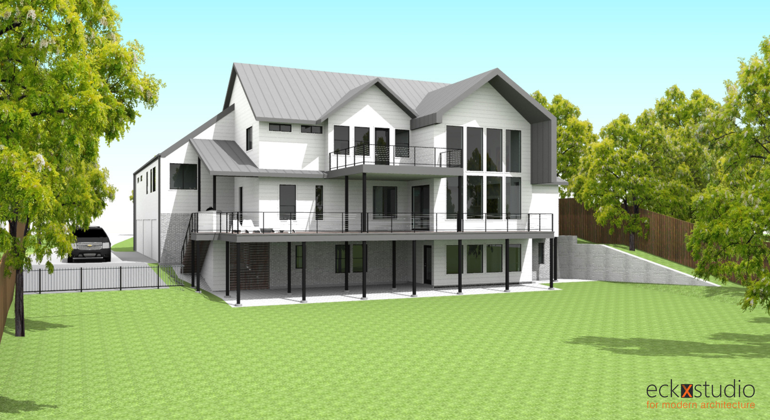 Placid Rear Rendering image